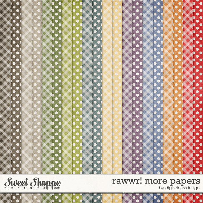 Rawwr More Papers by Digilicious Design