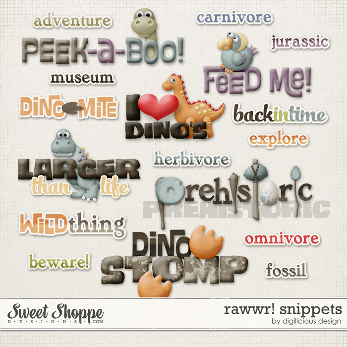 Rawwr Snippets by Digilicious Design