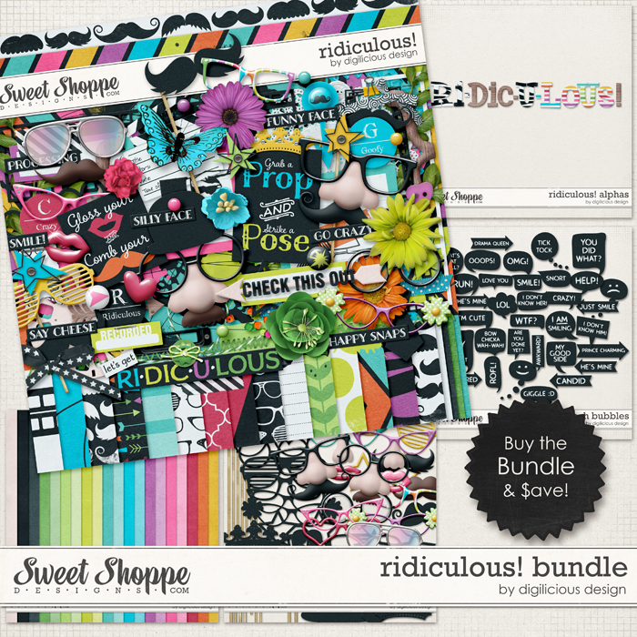 Ridiculous! Bundle by Digilicious Design