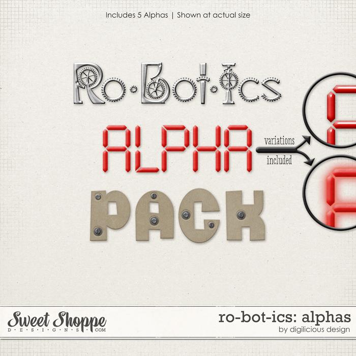 Robotics Alphas by Digilicious Design