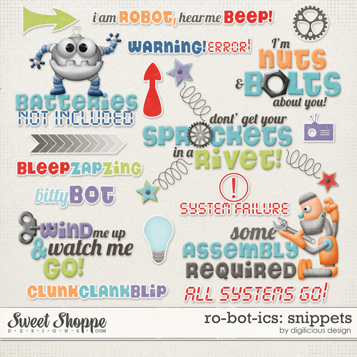 Robotics Snippets by Digilicious Design