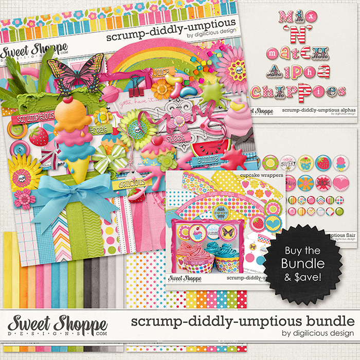Scrump-diddly-umptious Bundle by Digilicious Design