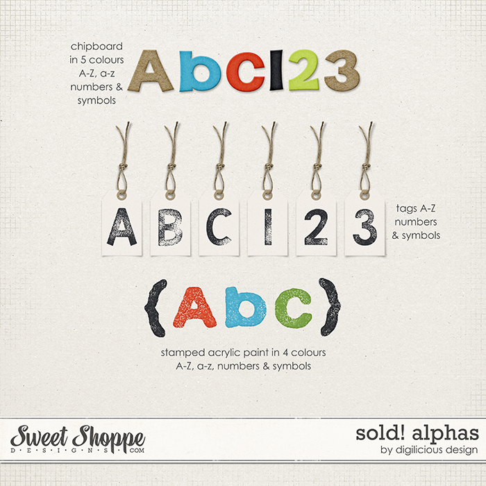 Sold! Alphas by Digilicious Design