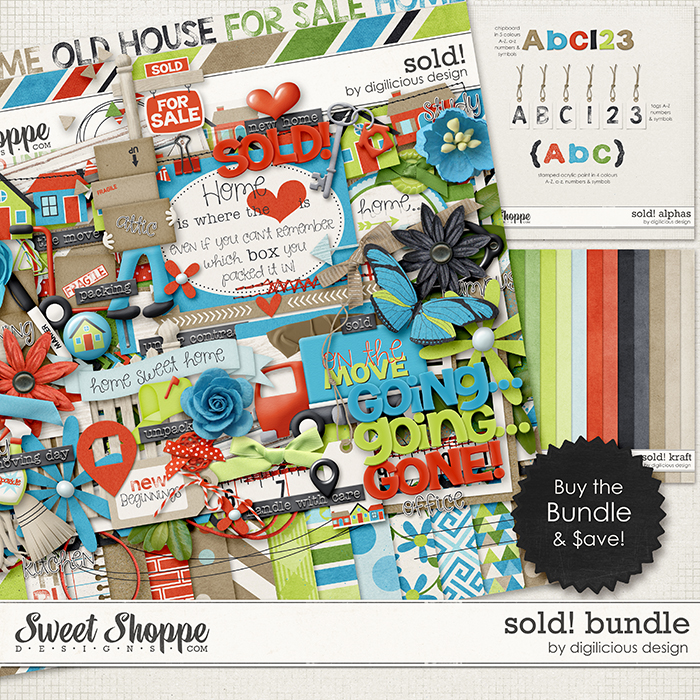 Sold! Bundle by Digilicious Design