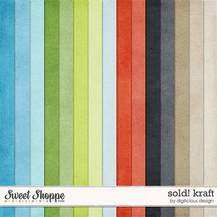 Sold! Kraft by Digilicious Design