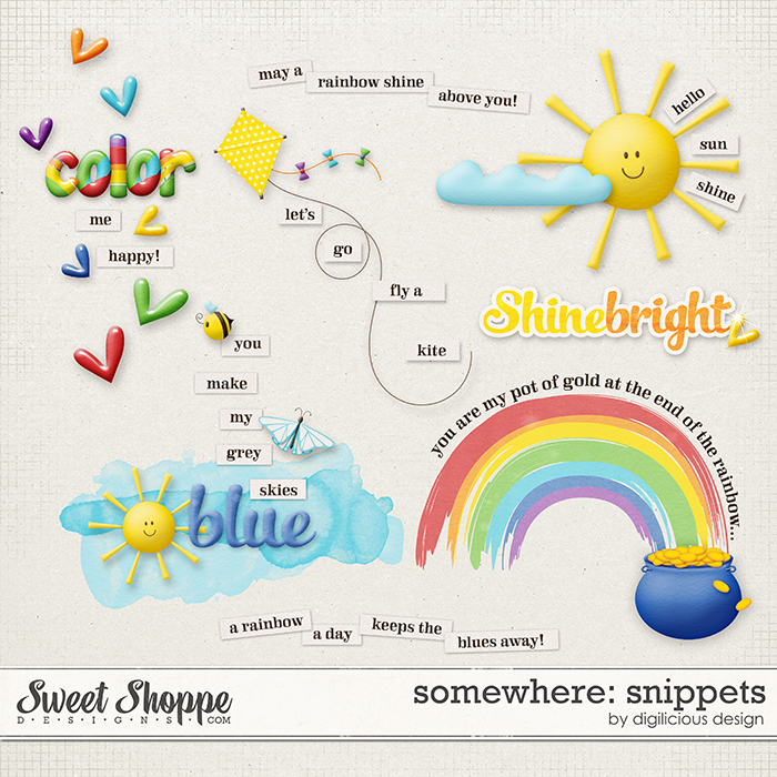 Somewhere Snippets by Digilicious Design