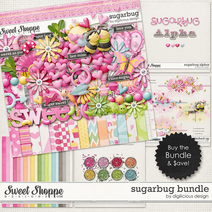 Sugarbug Bundle by Digilicious Design