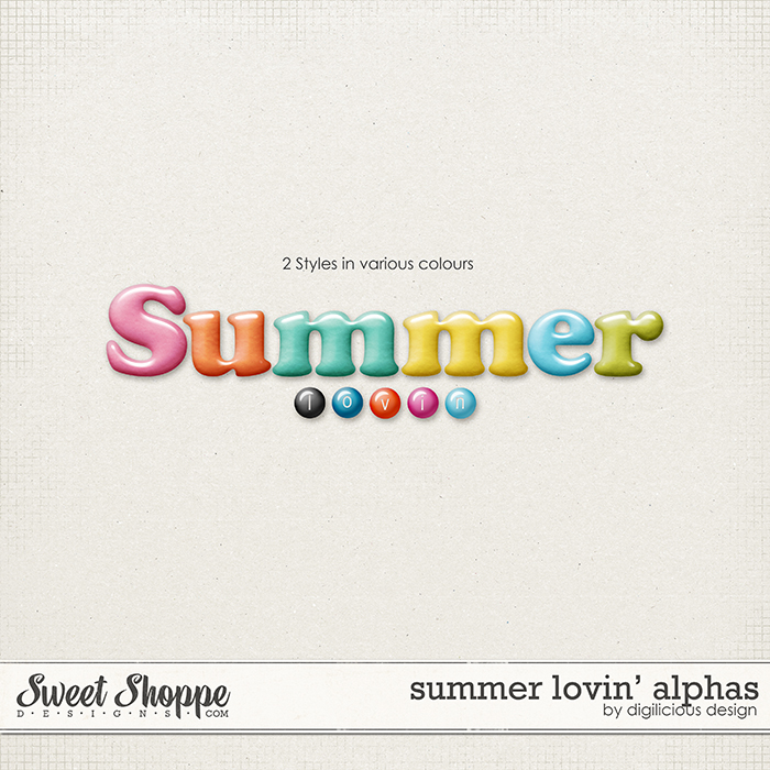 Summer Lovin' Alphas by Digilicious Design
