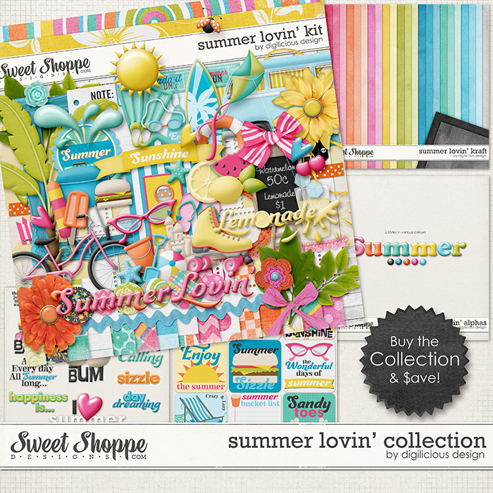 Summer Lovin' Collection by Digilicious Design