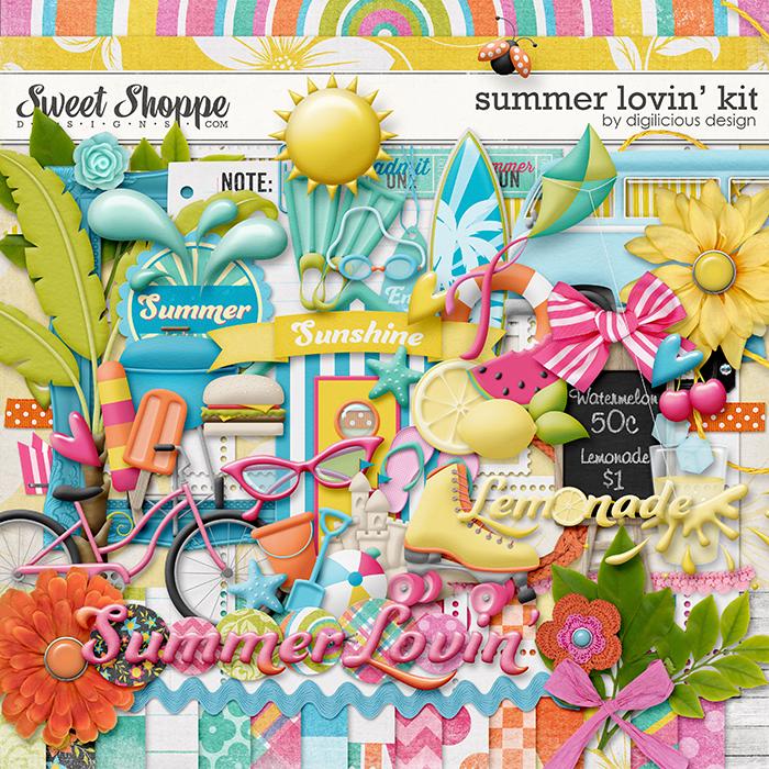 Summer Lovin' by Digilicious Design