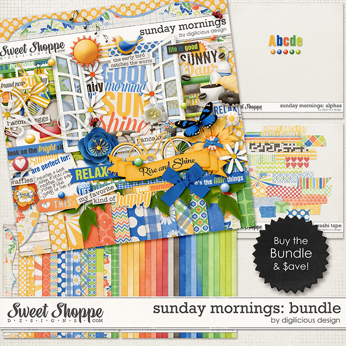 Sunday Mornings Bundle by Digilicious Design