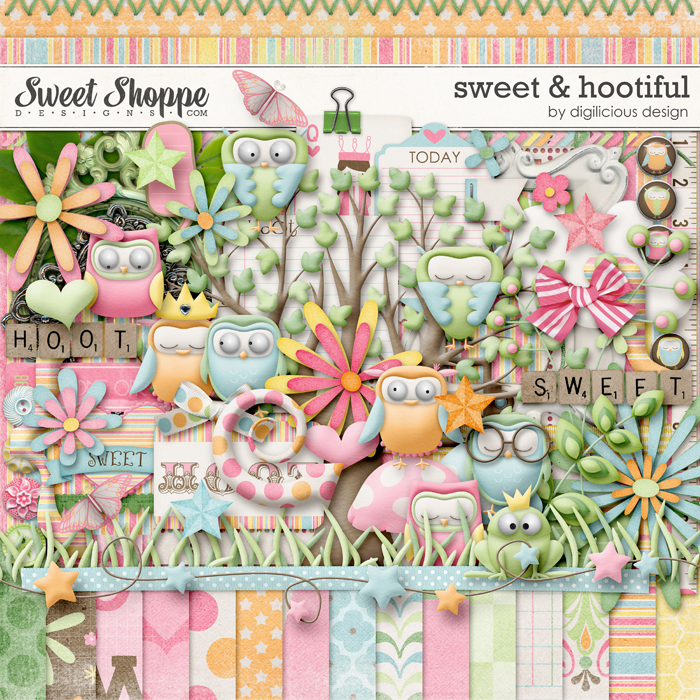 Sweet & Hootiful by Digilicious Design