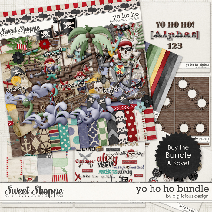 Yo Ho Ho Bundle by Digilicious Design