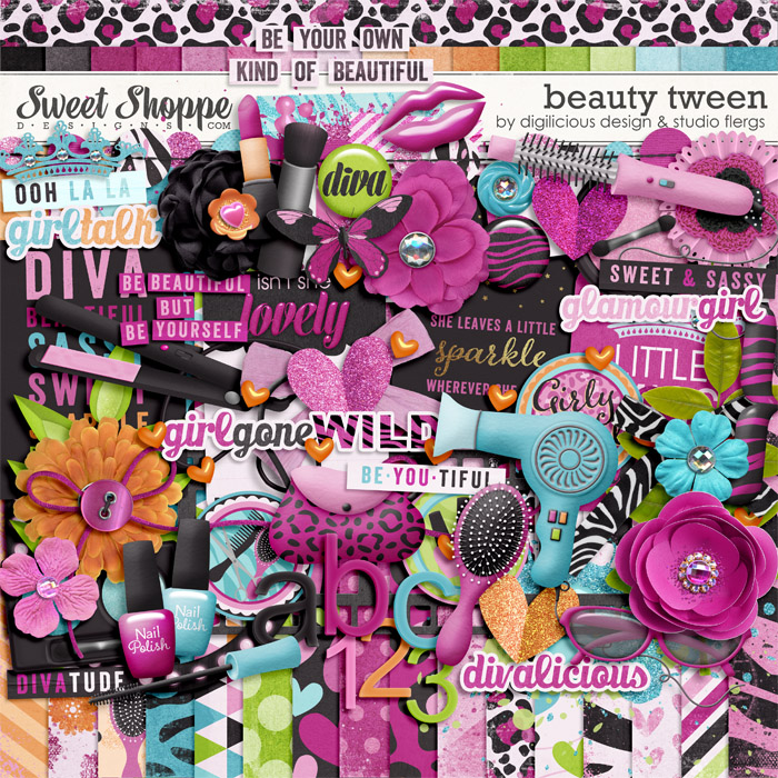 Beauty Tween by Digilicious Design & Studio Flergs