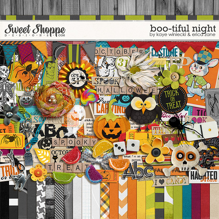 Boo-tiful Night by Erica Zane & Kaye Winiecki