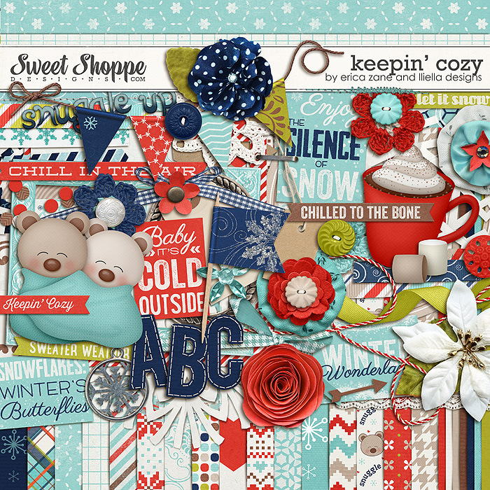 Keepin' Cozy by Erica Zane & Lliella Designs
