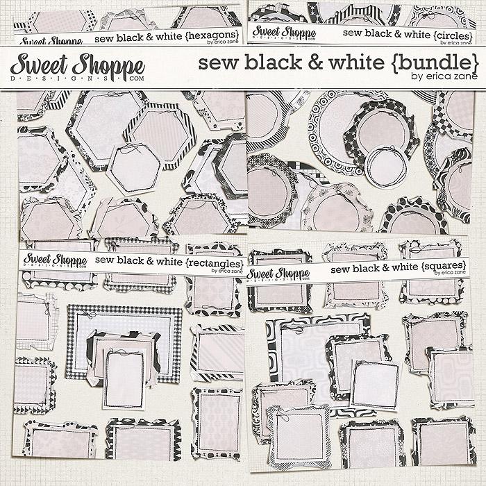 Sew Black & White {Bundle} by Erica Zane