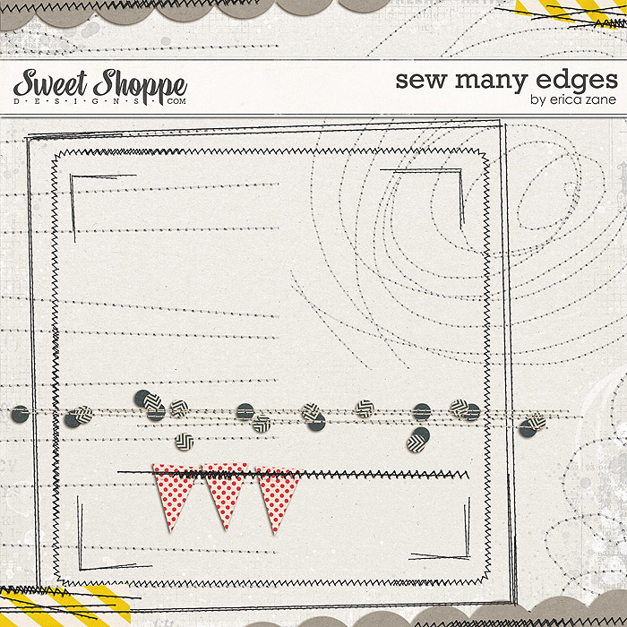Sew Many Edges by Erica Zane