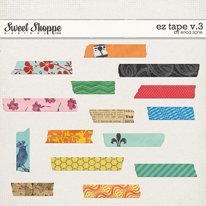 EZ Tape v.3 by Erica Zane