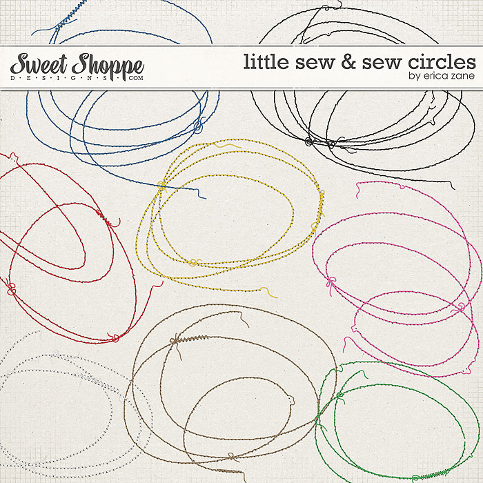 Little Sew & Sew Circles by Erica Zane