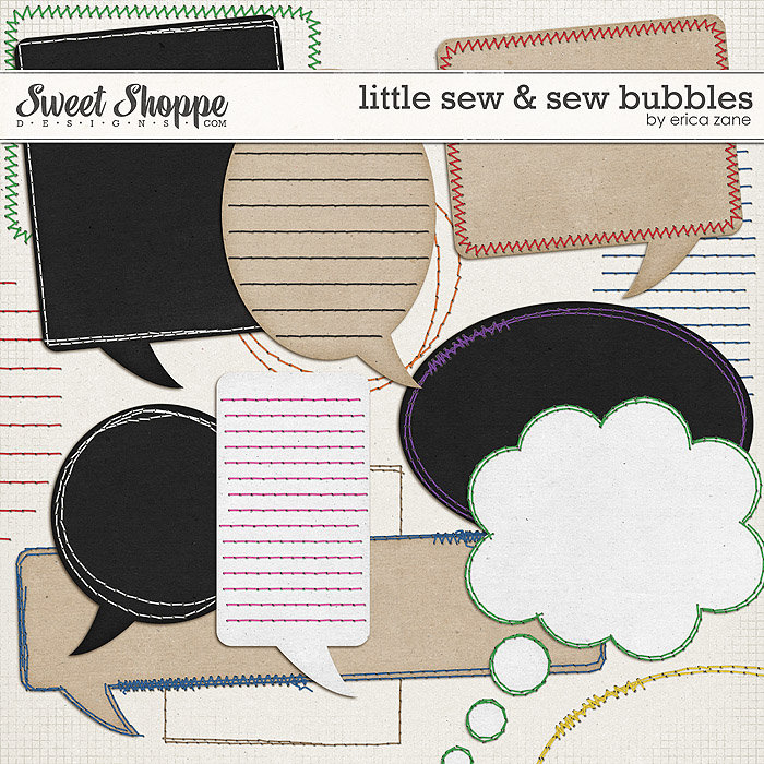Little Sew & Sew Bubbles by Erica Zane