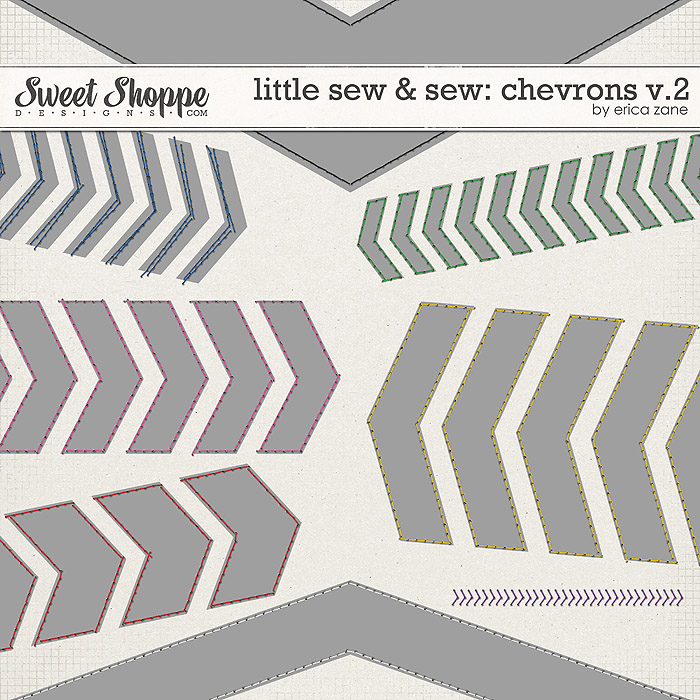 Little Sew & Sew Chevrons v.2 by Erica Zane
