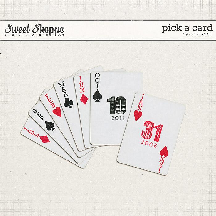 Pick A Card by Erica Zane