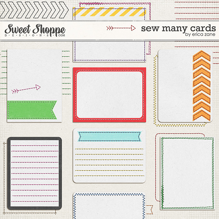 Sew Many Cards by Erica Zane