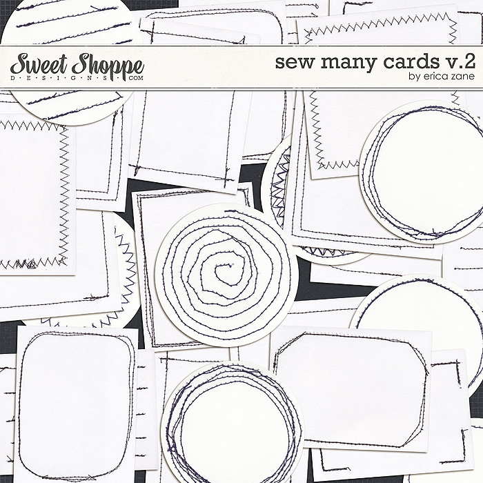 Sew Many Cards v.2 by Erica Zane