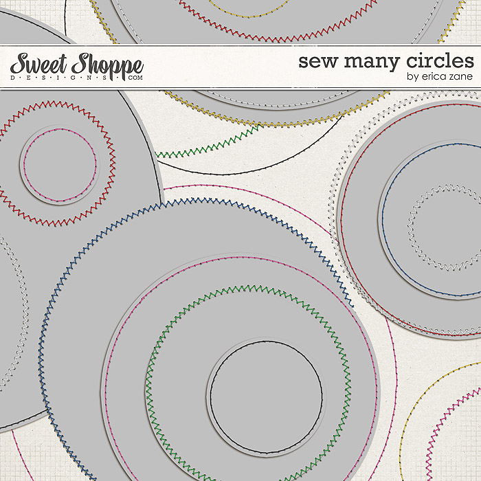 Sew Many Circles by Erica Zane