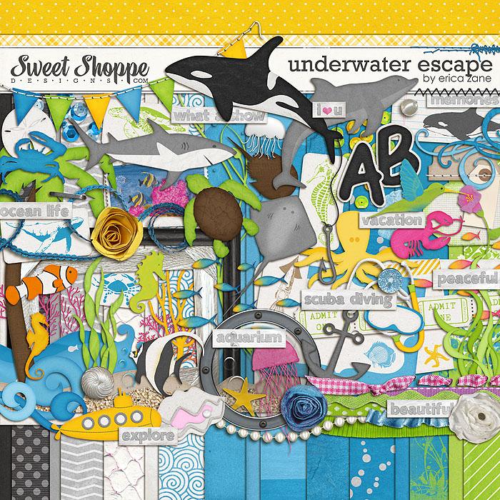 Underwater Escape by Erica Zane