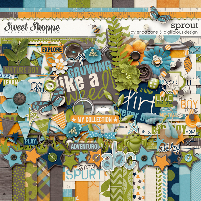 Sprout by Erica Zane & Digilicious Designs