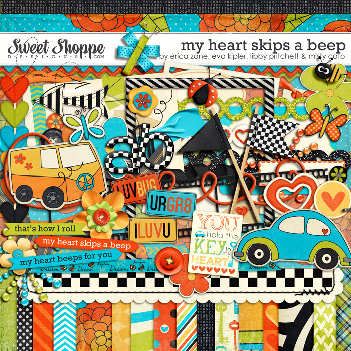 *LIMITED EDITION* My Heart Skips A Beep by Erica Zane, Eva Kipler, Libby Pritchett, and Misty Cato
