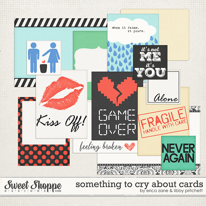 Something to Cry About Cards by Erica Zane & Libby Pritchett
