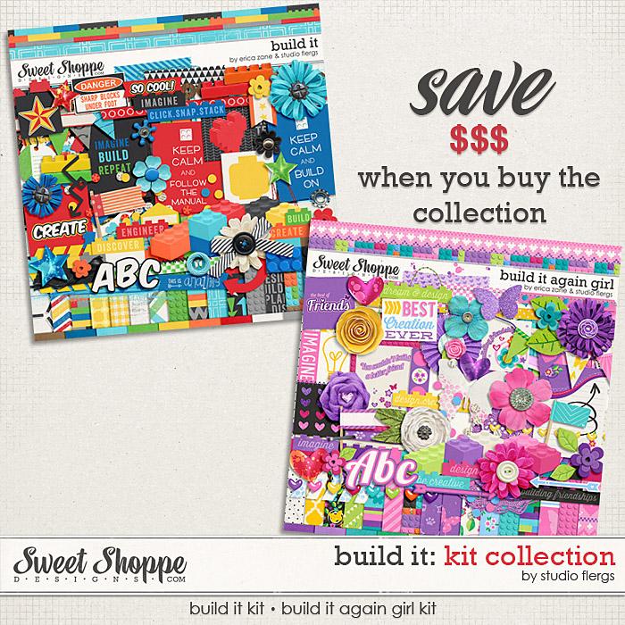 Build It: Kit Collection by Erica Zane & Studio Flergs