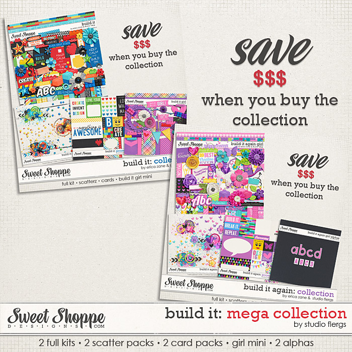 Build It: Mega Collection by Erica Zane & Studio Flergs