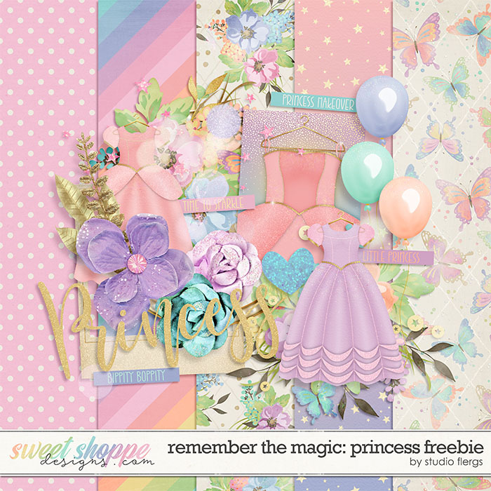 Remember the Magic: PRINCESS *FREEBIE* by Studio Flergs