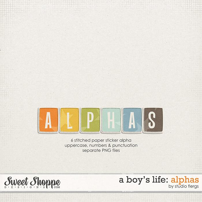 A Boy's Life: ALPHAS by Studio Flergs