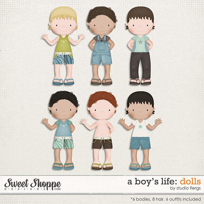 A Boy's Life: DOLLS by Studio Flergs