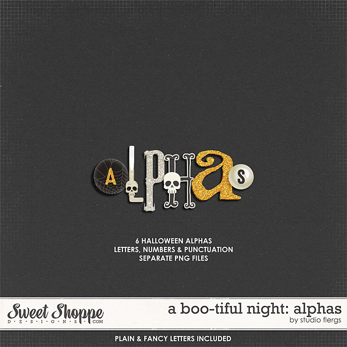 A Boo-tiful Night: ALPHAS by Studio Flergs