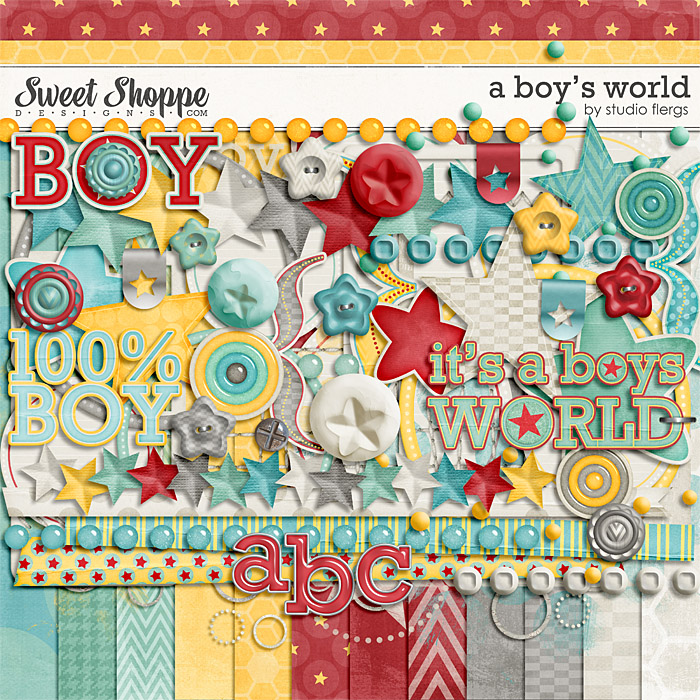 A Boy's World by Studio Flergs