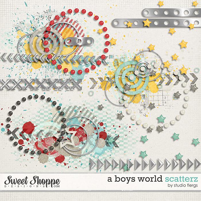 A Boy's World: SCATTERZ by Studio Flergs
