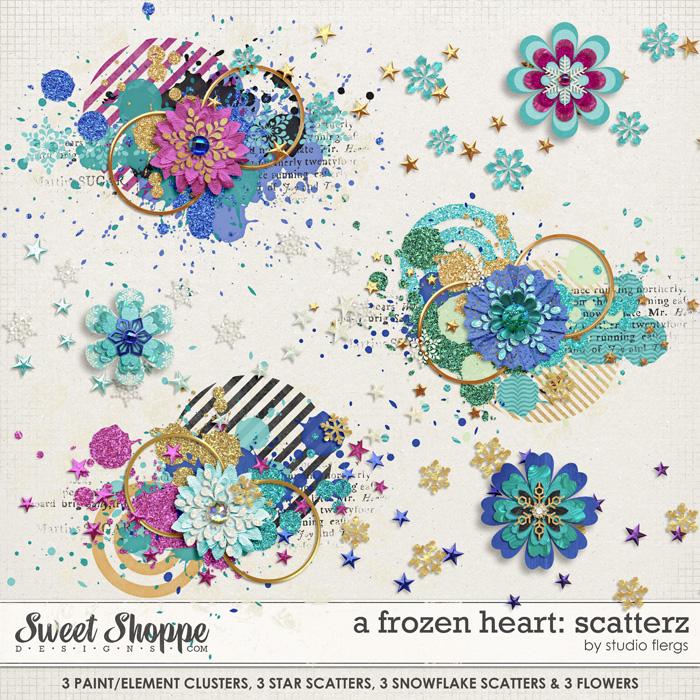 A Frozen Heart: SCATTERZ by Studio Flergs