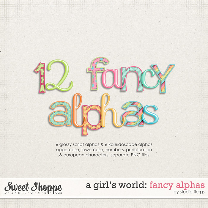 A Girl's World: ALPHAS by Studio Flergs