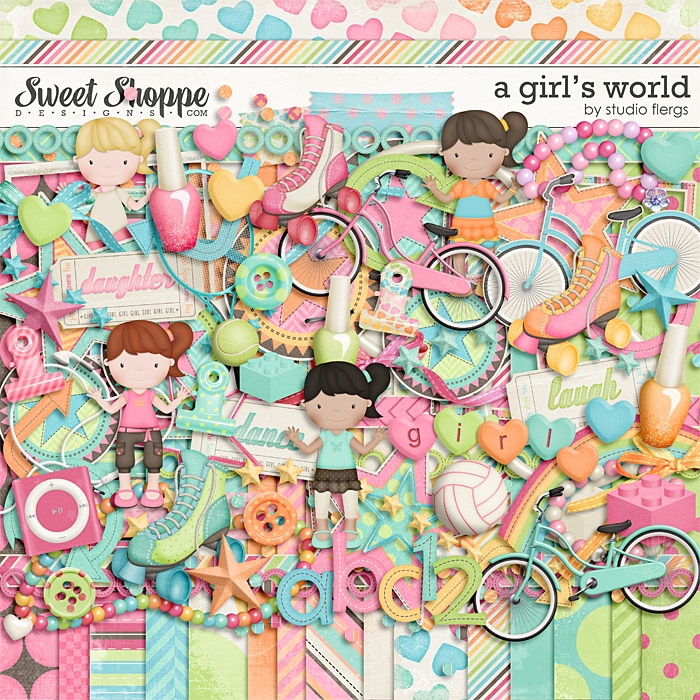 A Girl's World by Studio Flergs
