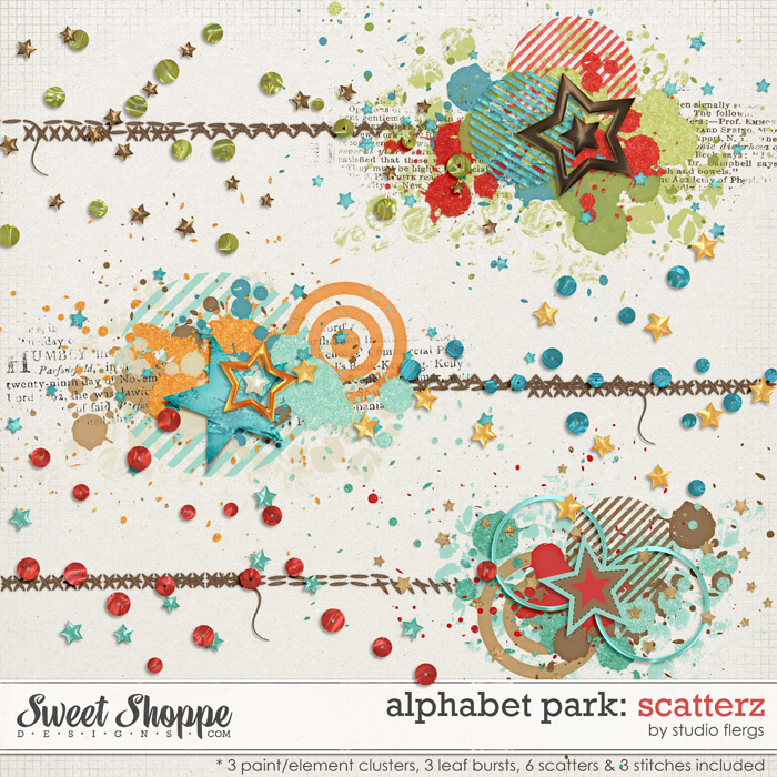 Alphabet Park: SCATTERZ by Studio Flergs