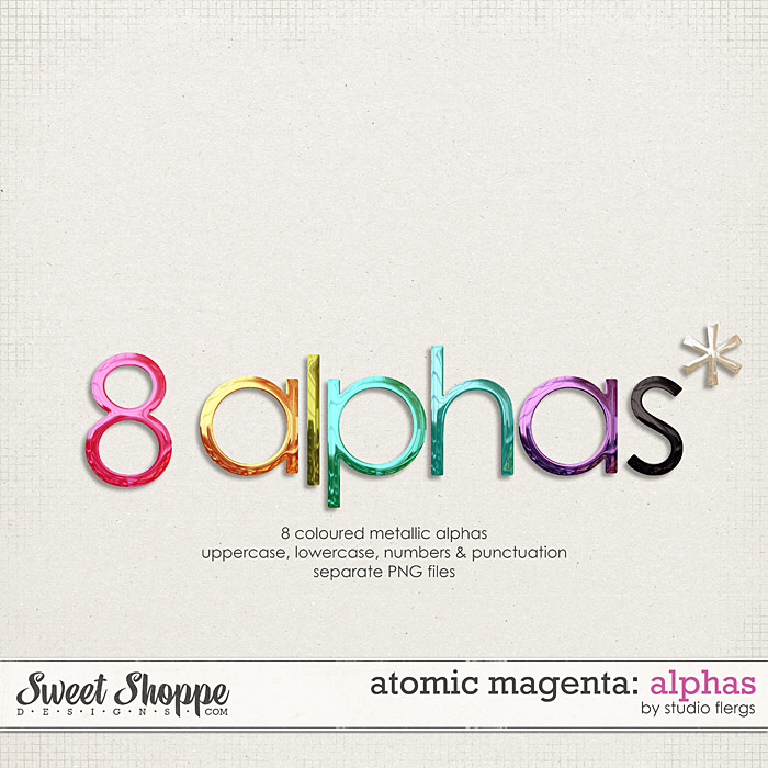 Atomic Magenta: ALPHAS by Studio Flergs