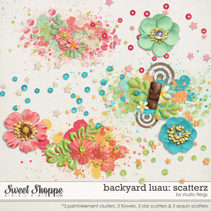 Backyard Luau: SCATTERZ by Studio Flergs