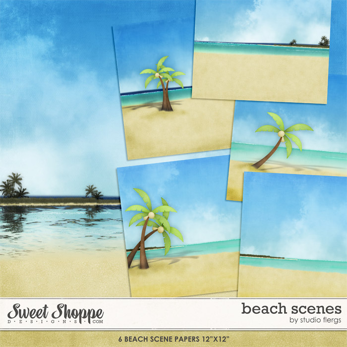 Beach Scenes by Studio Flergs