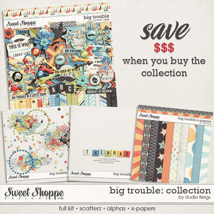 Big Trouble: COLLECTION by Studio Flergs